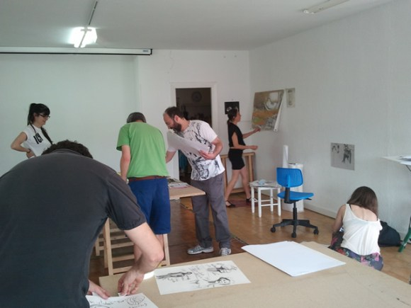 Making of. (Foto realizada por Marijo)