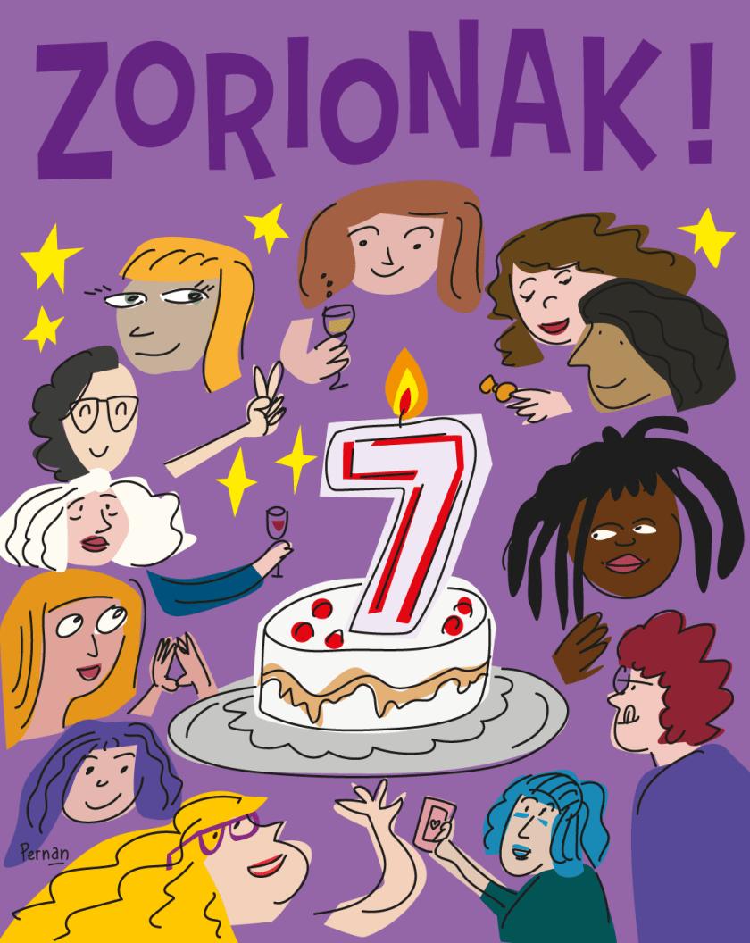 Zorionak, 12 miradas