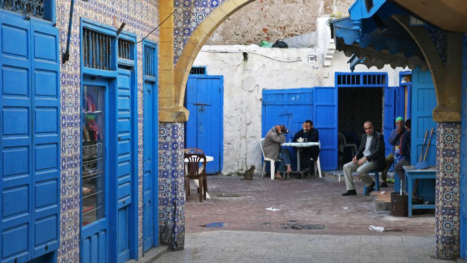 4. Maroko, As-Sawira. Życie w miasteczku toczy się wolno i spokojnie. (Fot. Ewa Serwicka)