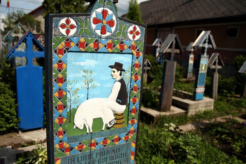 <strong>9. Rumunia, Sapanta. </strong> Miejmy nadzieję, że to tylko zwykły pasterz. (Fot. Grzegorz Król)