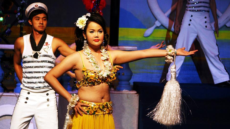 Zdjęcia z Tajlandii - Ladyboy Show