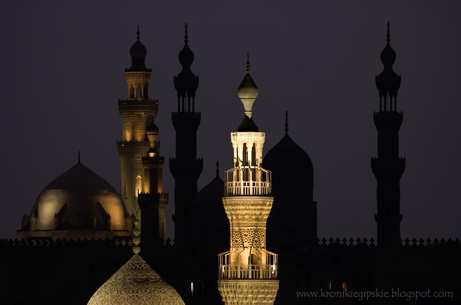 1. Kair, Egipt. Egipt został zajęty przez Arabów w 640 roku. Wielu mieszkańców tego kraju szybko stało się gorliwymi wyznawcami nowej wiary, a Kair zyskał przydomek miasta tysiąca minaretów. (Fot. Anna Krukowska)