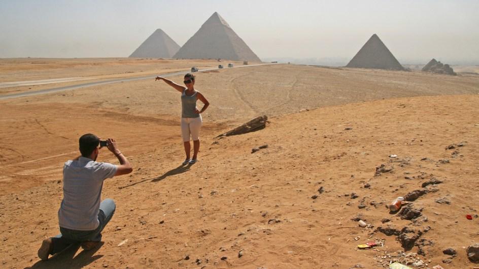 Zawsze chciałeś zobaczyć piramidy. (Fot. Ewa Serwicka)