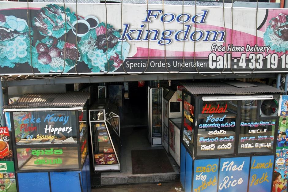 05. Sri Lanka. Po zakupach warto byłoby coś przekąsić. Na przykład w Królestwie Jedzenia. (Fot. Ewa Serwicka)