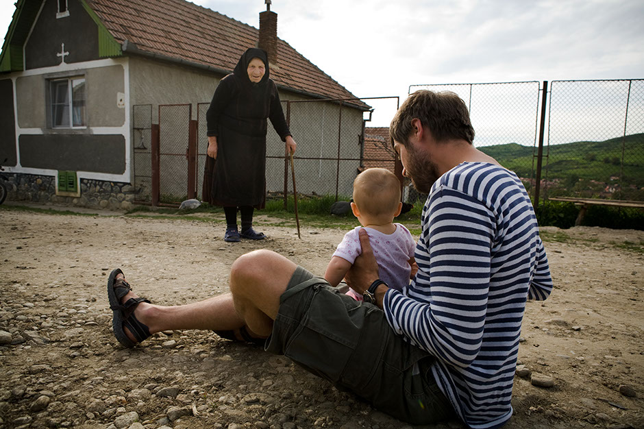 Z dzieckiem do Rumunii. Spotkanie w górach Fogaraskich.