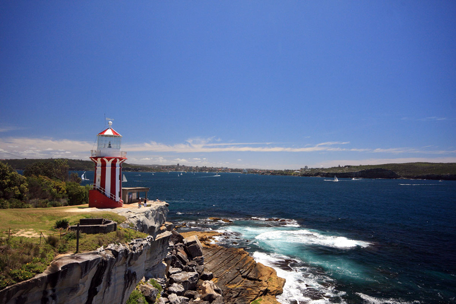 2. South Head. Wyjście na ocean. (Fot. Magda Biskup)