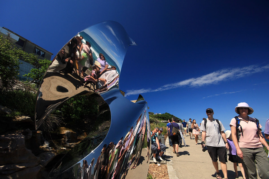 5. AUSTRALIA, Sydney. Nowoczesna rzeźba. Wystawa 'Sculptures by the sea'. (Fot. Magda Biskup)