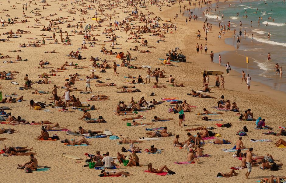7. AUSTRALIA, Sydney. Plaża Bondi. (Fot. Magda Biskup)