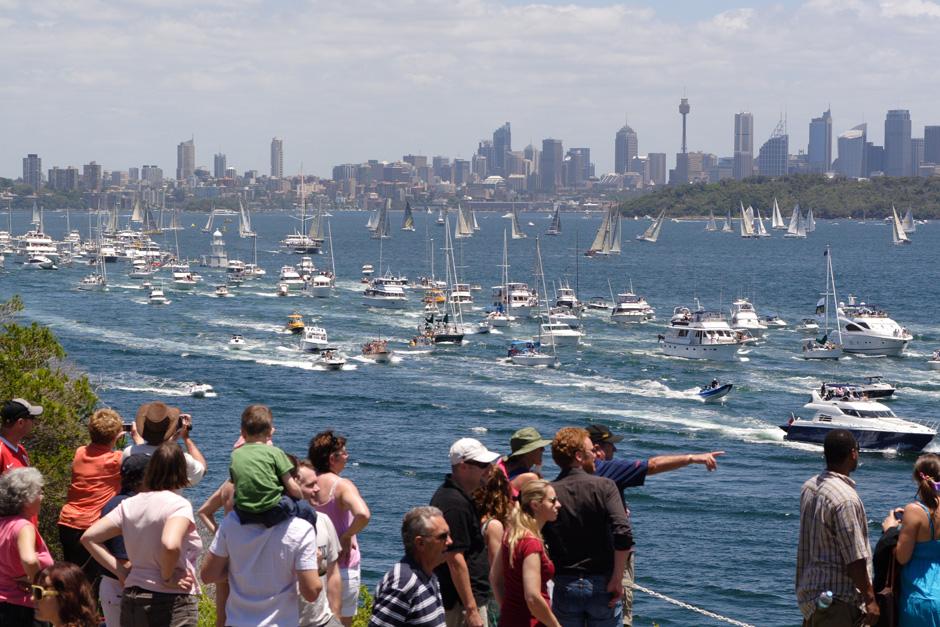 8. AUSTRALIA, Sydney. Start regat z Sydney do Hobart. (Fot. Magda Biskup)