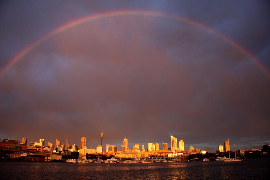 9. AUSTRALIA, Sydney. Miasto zaraz po burzy. (Fot. Magda Biskup)