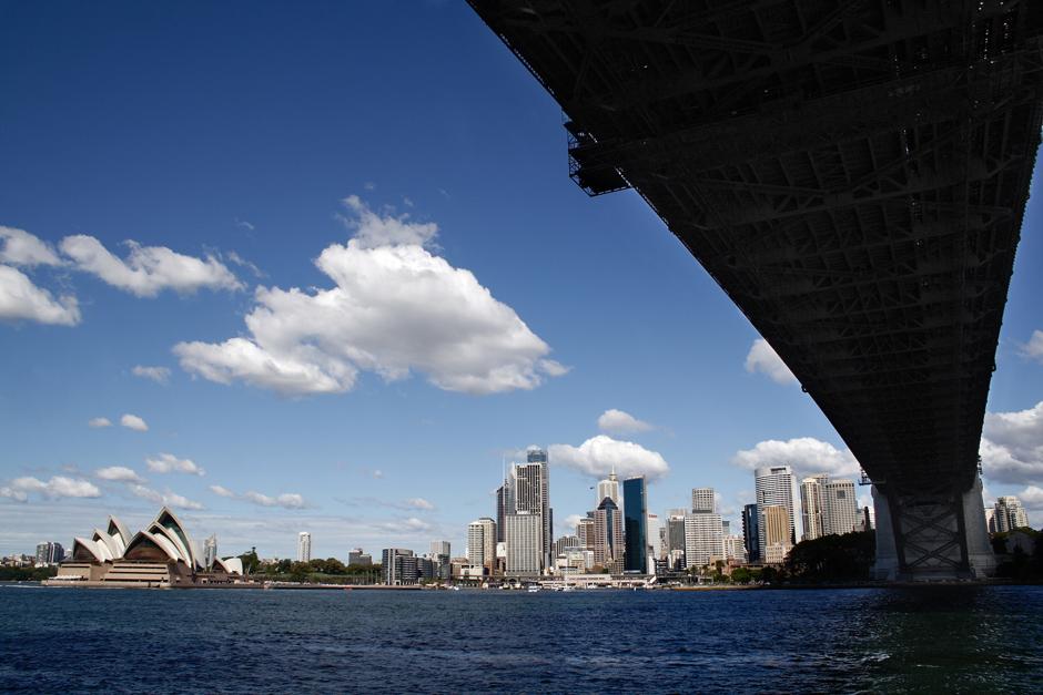11. AUSTRALIA, Sydney. Panorama miasta. (Fot. Magda Biskup)