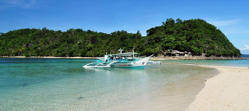 Filipiny - rajska plaża