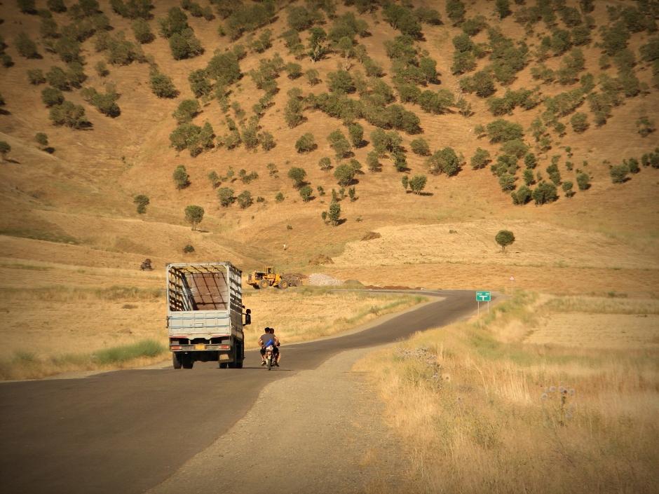 15. IRACKI KURDYSTAN, niedaleko Penjwen. Tędy już tylko do Iranu... (Fot. Katarzyna Komorek)