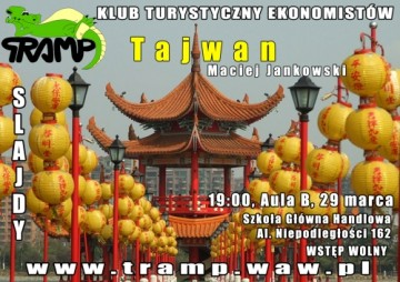 Tramping po tajwańsku