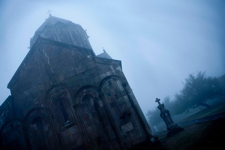 14. GÓRSKI KARABACH, zakon Gandzasar. Od ok. 1400 do 1816 klasztor był siedzibą katolikosów Armenii. Znajdują się w nim relikwie ojca Jana Chrzciciela - św. Zachariasza.