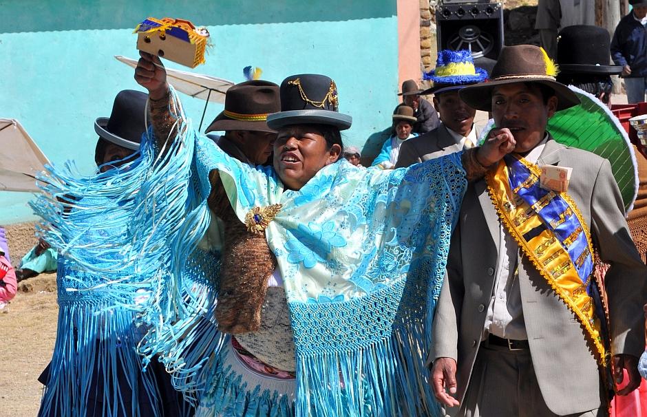 10. Boliwia, Isla del Sol. Niektórzy nigdy nie tracą sił do dalszej zabawy. (Fot. Maja Szymańczak)