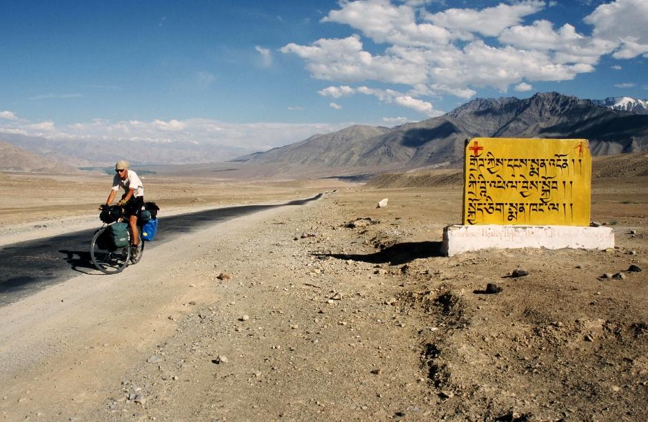 Rowerowa podróż przez Ladakh w Indiach