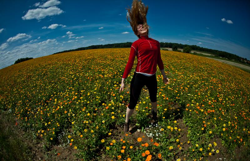 Bo podróż ma być radością. Tak jak życie. (Fot. www.nakrancach.pl)