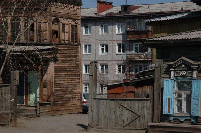 W Rosji wciąż żywe są animistyczne wierzenia, także w całkiem nowoczesnych osadach. (Fot. Jakub Rybicki)