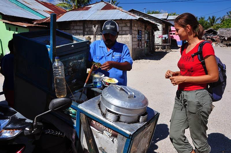 Indonezja - uliczna jadłodajnia