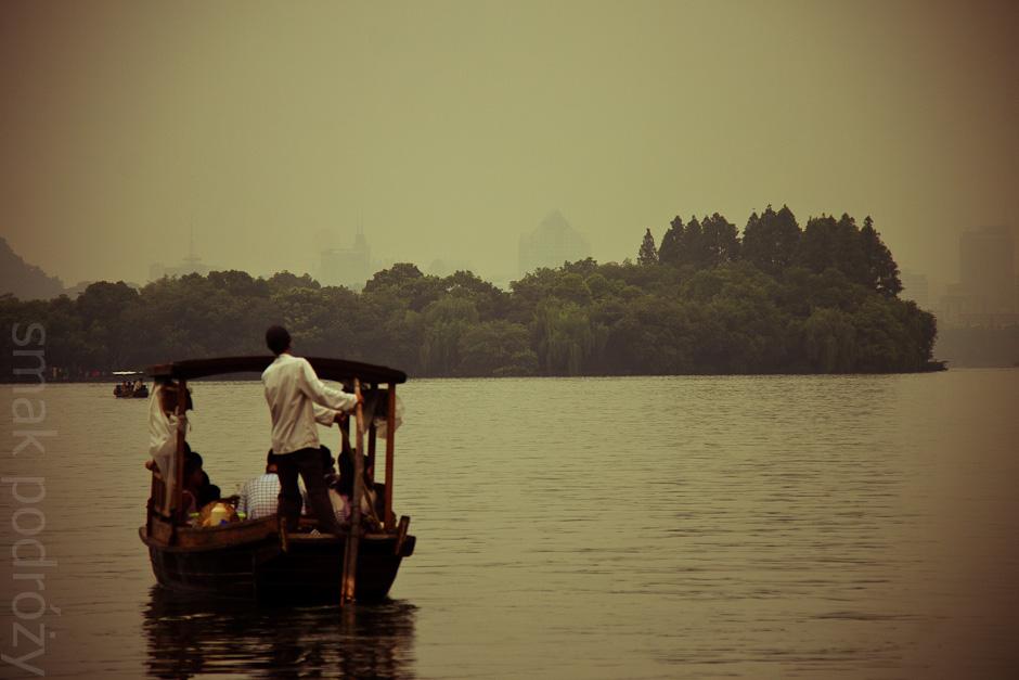 Jezioro Zachodnie w Hangzhou można znaleźć na banknocie o nominale 1 juana
