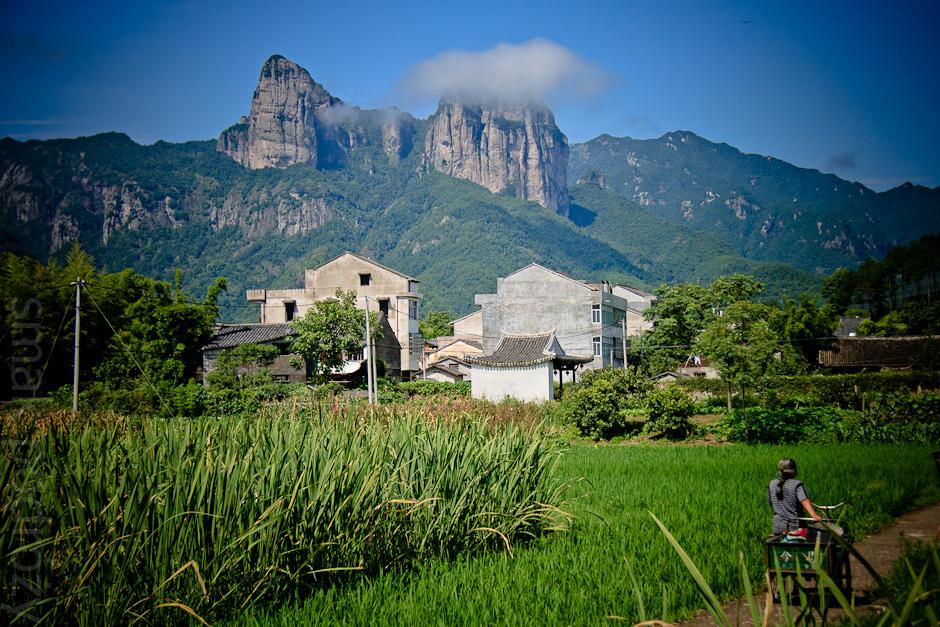 Chiny. Zdjęcie z prowincji Zhejiang