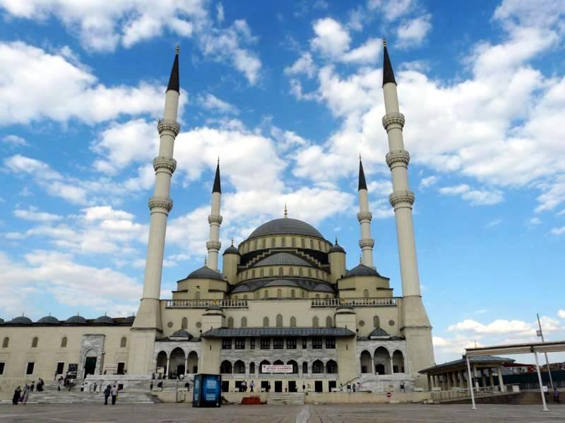 Meczet Kocatepe, Ankara, Turcja.