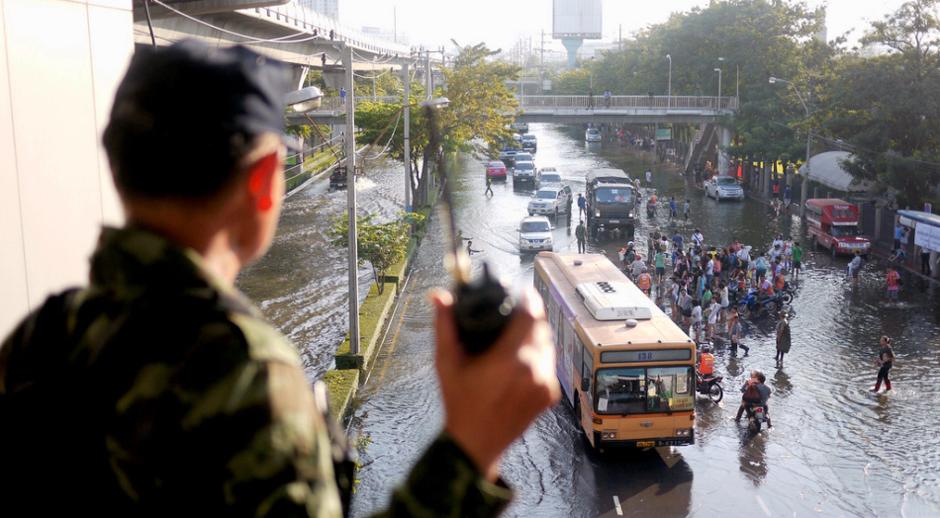 Powódź w stolicy Tajlandii