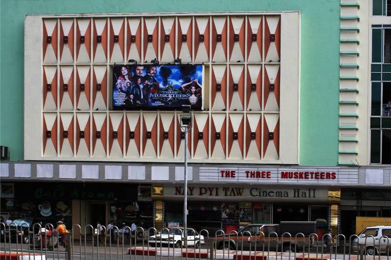 Kino w stolicy Birmy, Rangunie