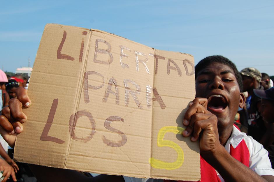 Święto pracy na Kubie.