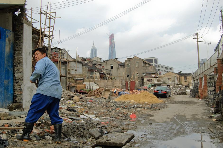 Przebudowa Szanghaju.