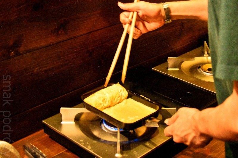 Słodki omlet - jeden z moich ulubionych dodatków do sushi. (Fot. Kasia Boni)