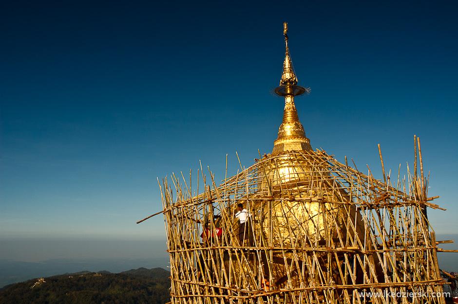 Stupy w Birmie