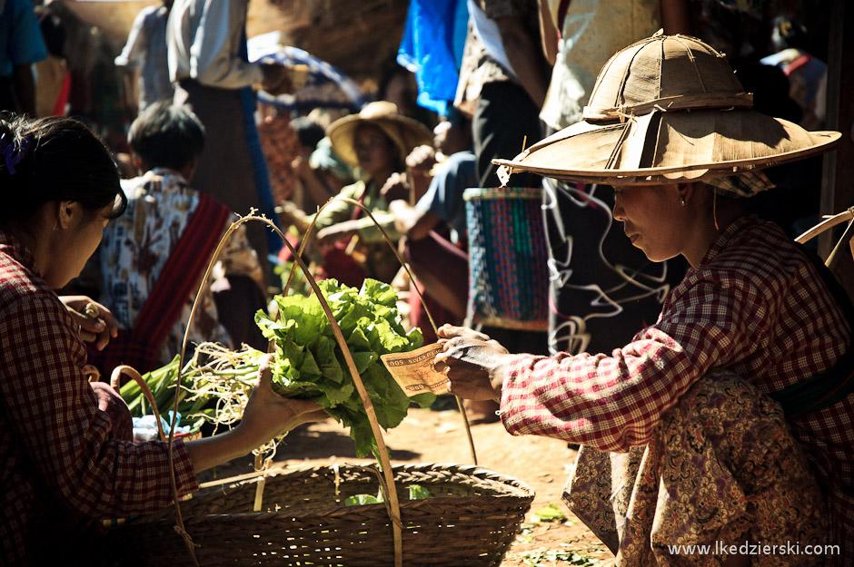 Targowanie się w Birmie