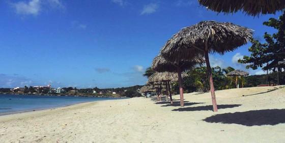 Turystyczny ośrodek na Karaibach