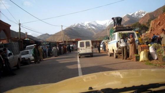 Maroko można przejechać starym mercedesem