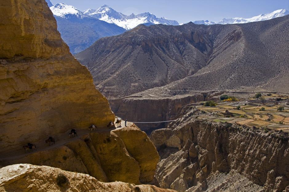 Kanion Kali Gandaki, północny Nepal
