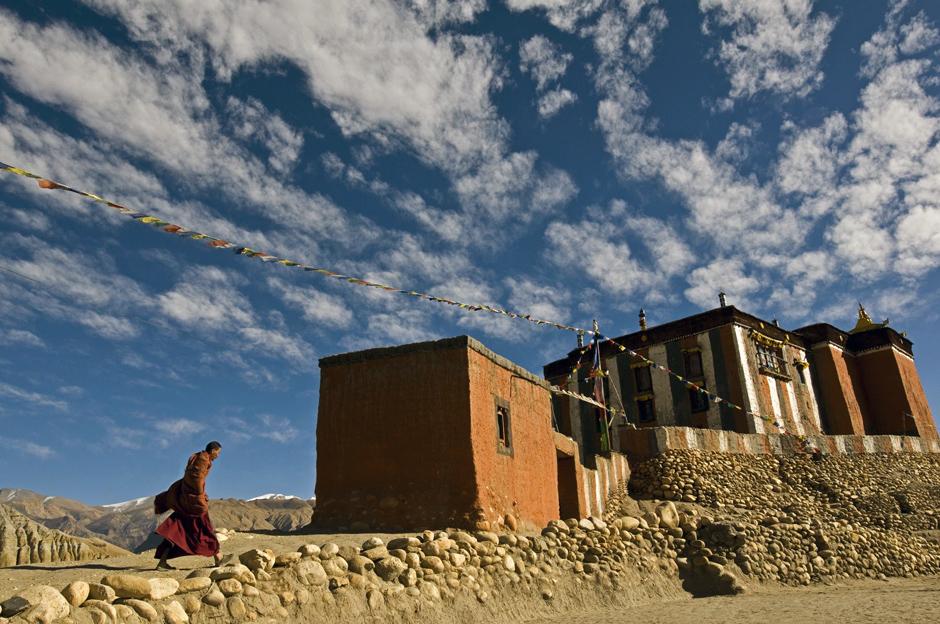 Zdjęcia z podróży do Nepalu. Buddyjscy mnisi
