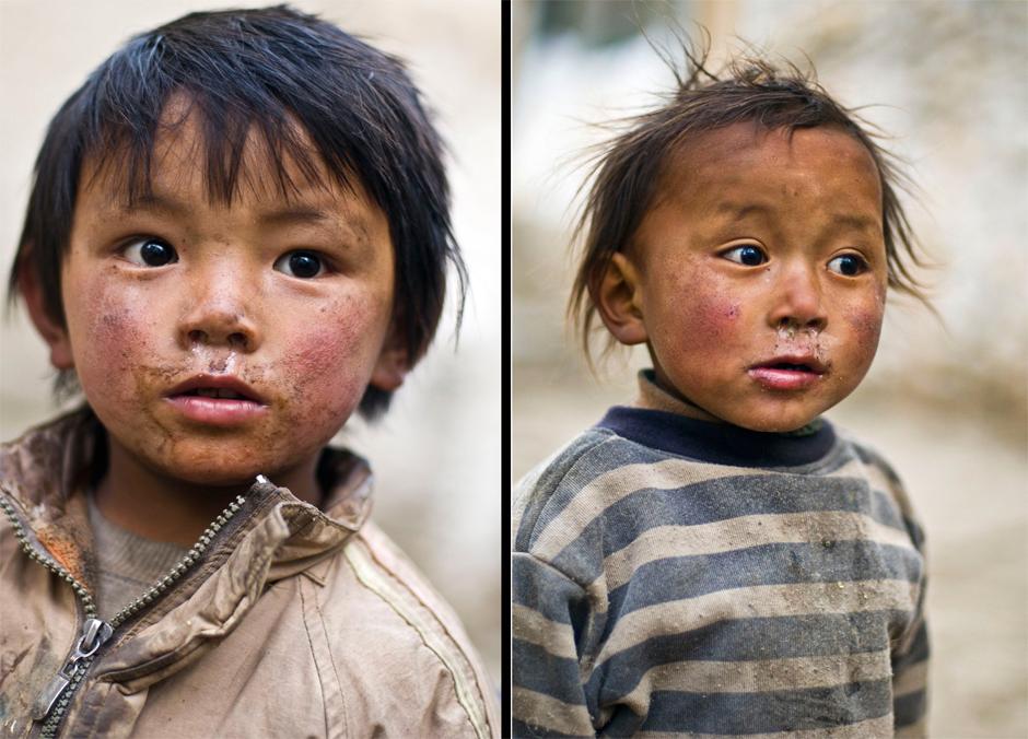 Zdjęcia z podróży do Nepalu - dzieci