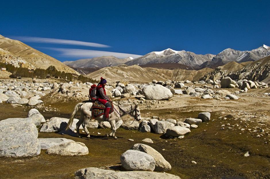 Konna podróż przez północny Nepal