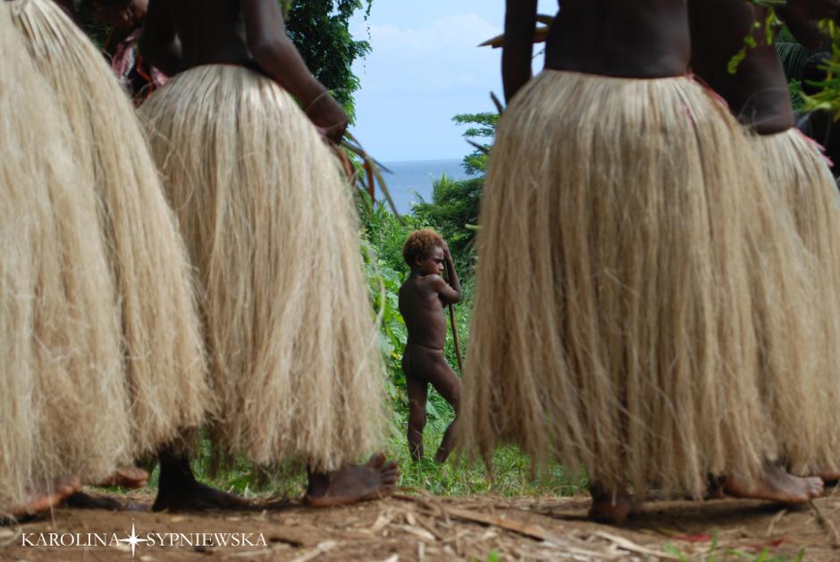 Naghol - tradycyjne tańce Papuasów