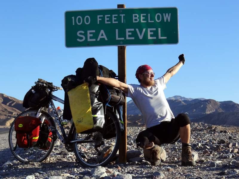 Rowerem przez Dolinę Śmierci