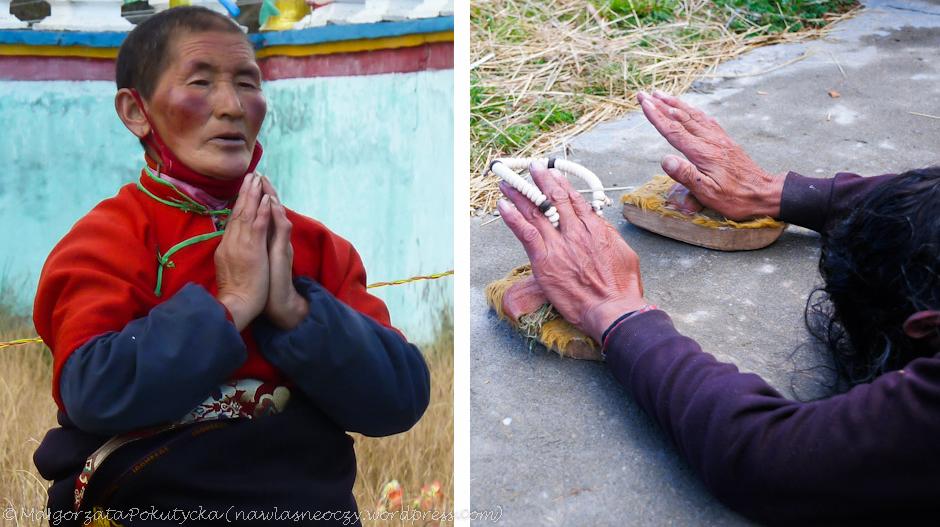 Modlitwy buddyjskich mnichów