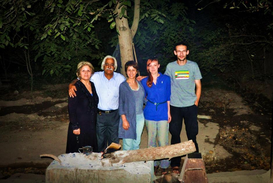 Irańczycy na grillu