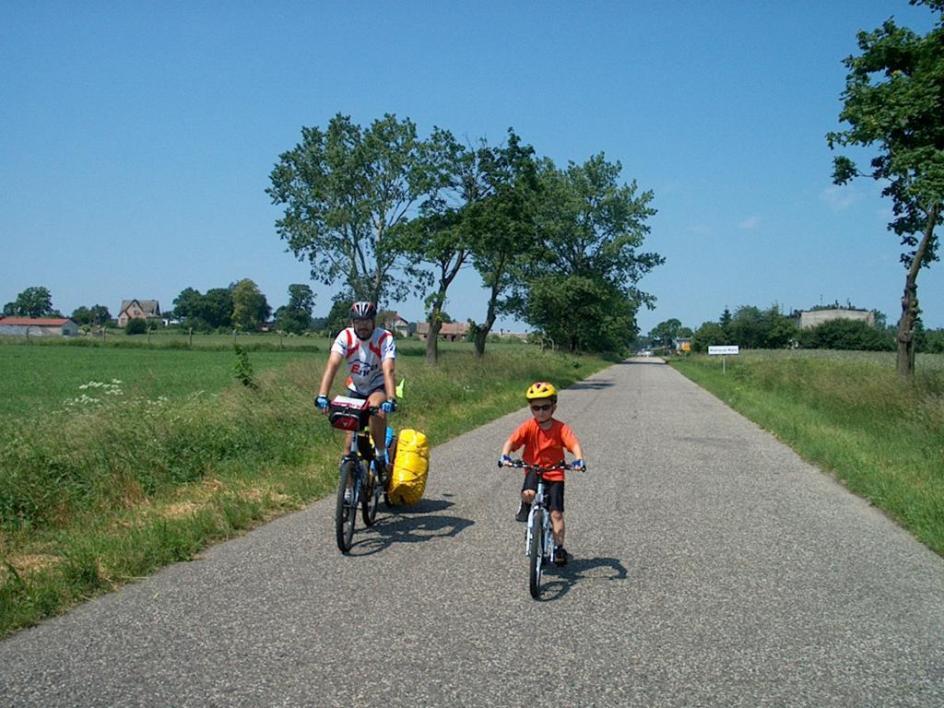 Wyprawa rowerowa dookoła Polski z siedmioletnim synem.