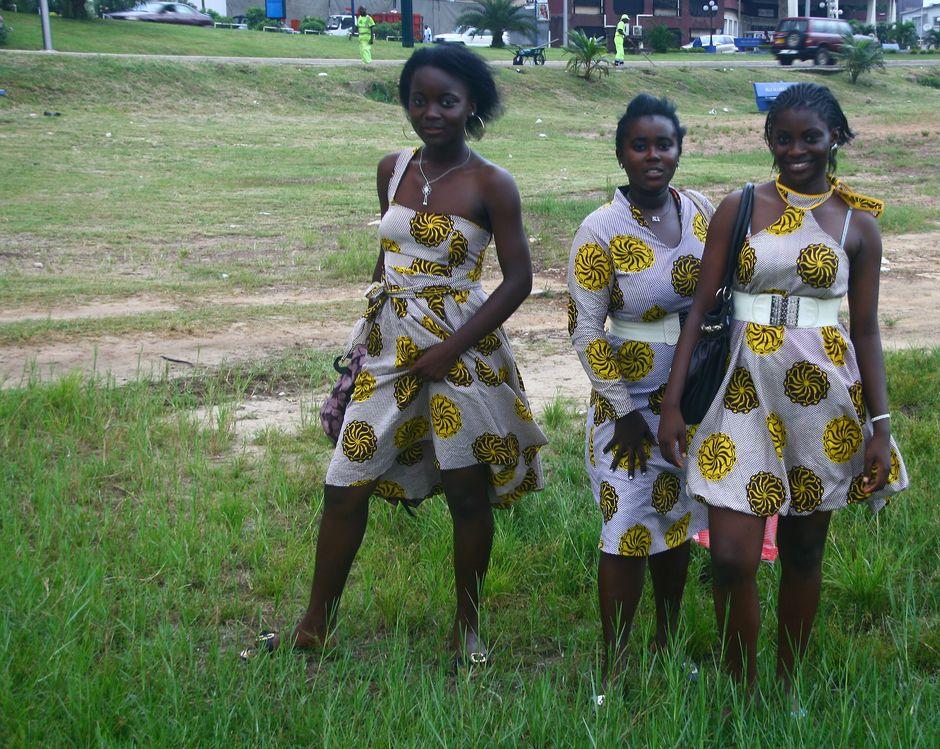 Dziewczyny z Kamerunu