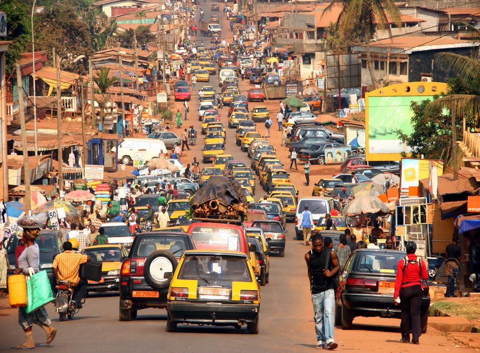 Taksówki w Yaounde