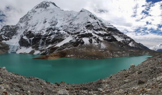 Jezioro North Chamlang Lake