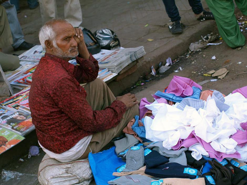 Sprzedawca z Delhi