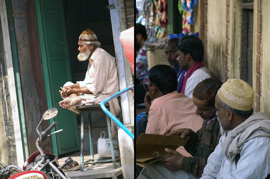 Mieszkańcy Delhi